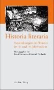 Cover-Bild zu Vollhardt, Friedrich (Hrsg.): Historia literaria (eBook)