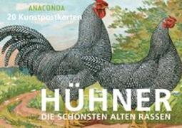 Cover-Bild zu Postkartenbuch Hühner von Anaconda Verlag