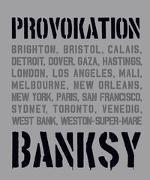 Cover-Bild zu BANKSY PROVOKATION von Tapies, Xavier