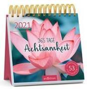 Cover-Bild zu Postkartenkalender 365 Tage Achtsamkeit 2021