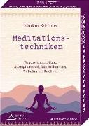 Cover-Bild zu Meditationstechniken- Wege zu innerer Ruhe, Ausgeglichenheit, Selbsterkenntnis, Reflexion und Resilienz