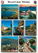 Cover-Bild zu 24005; AK: Saluti dal Ticino 'Hit'