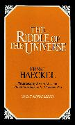 Cover-Bild zu Haeckel, Ernst: The Riddle of the Universe