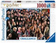 Cover-Bild zu Ravensburger Puzzle 1000 Teile Harry Potter - Über 70 Charaktere aus der zauberhaften Welt von Hogwarts auf einem Puzzle für Erwachsene und Kinder ab 14 Jahren