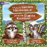 Cover-Bild zu Schepmann, Philipp (Gelesen): Der kleine Waschbär Waschmichnicht und Das kleine Stinktier Riechtsogut (Audio Download)
