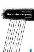Cover-Bild zu Und das ist alles genug von Krause, Thilo