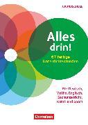 Cover-Bild zu Blätz, Patricia: Alles drin! 60 fertige Unterrichtsstunden, Für Deutsch, Mathe, Englisch, Sachunterricht, Kunst und Sport - Klasse 1-4, Kopiervorlagen