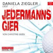 Cover-Bild zu Grän, Christine: Krimi to go: Jedermanns Gier