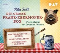 Cover-Bild zu Die große Franz-Eberhofer-Box von Falk, Rita