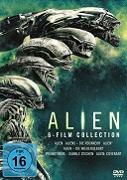 Cover-Bild zu Alien 1-6 von David Fincher, James Cameron, Jean-Pierre Jeunet, Ridley Scott (Reg.)