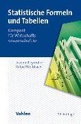 Cover-Bild zu Statistische Formeln und Tabellen von Bleymüller, Josef