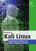 Cover-Bild zu Einstieg in Kali Linux von Ebner, Jürgen