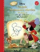 Cover-Bild zu Disney Enterprises Inc: Learn to Draw Disney Classic Animated Movies Vol. 1: Featuring Favorite Characters from Alice in Wonderland, the Jungle Book, 101 Dalmatians, Peter Pa
