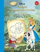 Cover-Bild zu Disney Enterprises Inc: Learn to Draw Disney Classic Animated Movies Vol. 2: Featuring Favorite Characters from Alice in Wonderland, the Jungle Book, 101 Dalmatians, Peter Pa