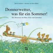 Cover-Bild zu Donnerwetter, was für ein Sommer! von Iwamura, Kazuo