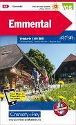 Cover-Bild zu Emmental Nr. 10 Velokarte 1:60 000. 1:60'000 von Hallwag Kümmerly+Frey AG (Hrsg.)