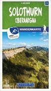 Cover-Bild zu Solothurn 11 Wanderkarte 1:40 000 matt laminiert. 1:40'000