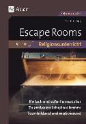 Cover-Bild zu Sigg, Stephan: Escape Rooms für den Religionsunterricht 5-10