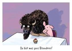 """Cover-Bild zu Mühle, Jörg: Warum heißt der Löwe Löwe? - Postkartenset """"Bison"""""""