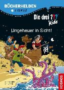 Cover-Bild zu Die drei ??? Kids, Bücherhelden 2. Klasse, Ungeheuer in Sicht! (drei Fragezeichen Kids) (eBook) von Blanck, Ulf