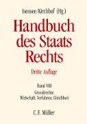 Cover-Bild zu Handbuch des Staatsrechts von Breuer, Rüdiger