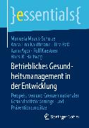 Cover-Bild zu Betriebliches Gesundheitsmanagement in der Entwicklung (eBook) von Kaestner, Rolf