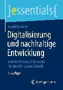 Cover-Bild zu Digitalisierung und nachhaltige Entwicklung (eBook) von Deckert, Ronald