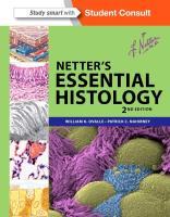 Cover-Bild zu Netter's Essential Histology von Ovalle, William K.