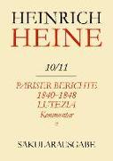 Cover-Bild zu Pariser Berichte 1840-1848 und Lutezia. Berichte über Politik, Kunst und Volksleben. Kommentar. Teilband II (eBook) von Netter, Lucienne (Hrsg.)