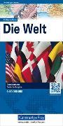 Cover-Bild zu Welt politisch Karte. 1:50'000'000 von Hallwag Kümmerly+Frey AG (Hrsg.)