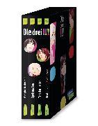Cover-Bild zu Die drei !!!: 4 Bände im Schuber (Spuk am See, Vampire in der Nacht, Tanz der Herzen, Beutejagd am Geistersee) von von Vogel, Maja