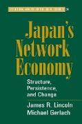 Cover-Bild zu Japan's Network Economy von Gerlach, Michael L.