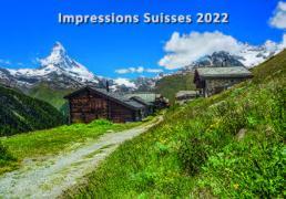 Cover-Bild zu Cal. Impressions Suisses 2022 Ft. 48x33