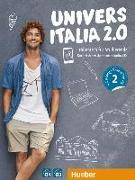 Cover-Bild zu UniversItalia 2.0 B1/B2. Corso di italiano - vollständige Neubearbeitung. Kurs- und Arbeitsbuch mit 2 Audio-CDs von Piotti, Danila