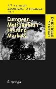 Cover-Bild zu European Metropolitan Housing Markets (eBook) von Andersson, Ake E. (Hrsg.)