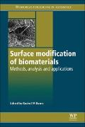 Cover-Bild zu Williams, Rachel (Hrsg.): Surface Modification of Biomaterials (eBook)