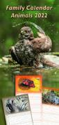 Cover-Bild zu Cal. Family Calendar Animals 2022 Ft. 23,5x50