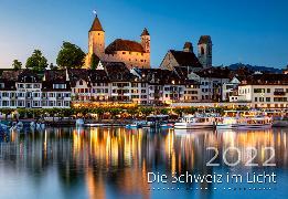 Cover-Bild zu Cal. Schweiz im Licht 2022 Ft. 48x33