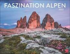 Cover-Bild zu Faszination Alpen Kalender 2022 von Heye (Hrsg.)