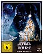 Cover-Bild zu Star Wars: Episode IV - Eine neue Hoffnung Steelbook Edition von George Lucas (Reg.)