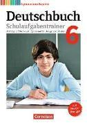 Cover-Bild zu Deutschbuch Gymnasium 6. Schuljahr. Neubearbeitung. Schulaufgabentrainer mit Lösungen. BY von Kößler-Finkenzeller, Bärbel