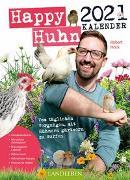 Cover-Bild zu Happy Huhn Kalender 2021 von Höck, Robert