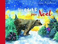 Cover-Bild zu Un ours fête Noël von Hächler, Bruno
