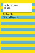 Cover-Bild zu Schnitzler, Arthur: Reigen. Textausgabe mit Kommentar und Materialien
