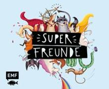 Cover-Bild zu Superfreunde - Das Freundebuch von Vigh, Inka (Illustr.)