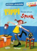 Cover-Bild zu Lindgren, Astrid: Pippi findet einen Spunk