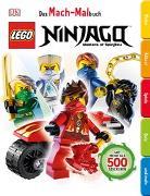 Cover-Bild zu Das Mach-Malbuch. LEGO® NINJAGO®