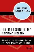 Cover-Bild zu Film und Realität in der Weimarer Republik von Korte, Helmut