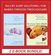 Cover-Bild zu No-Cry Sleep Solutions for Babies through Preschoolers (EBOOK BUNDLE) (eBook) von Pantley, Elizabeth