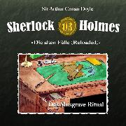 Cover-Bild zu Sherlock Holmes, Die alten Fälle (Reloaded), Fall 3: Das Musgrave-Ritual (Audio Download) von Doyle, Arthur Conan